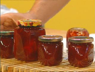 opas lieblings marmelade erdbeer rhabarber marmelade mit schuss