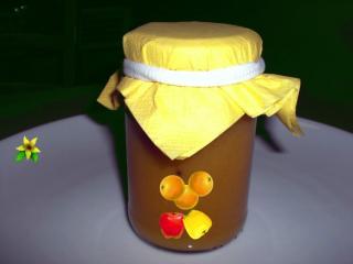 orangen apfel marmelade
