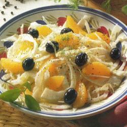 orangen fenchel salat mit oliven