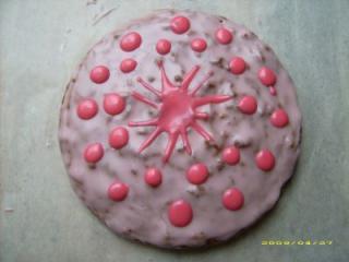orangen joghurt kuchen mit blutorangenguß