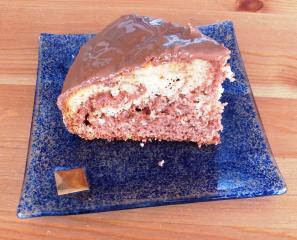orangen marmor kuchen minikuchen