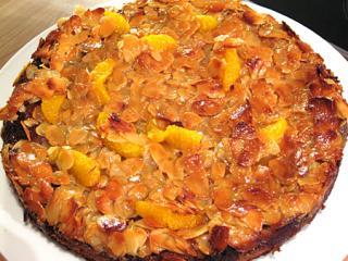 orangen quark kuchen