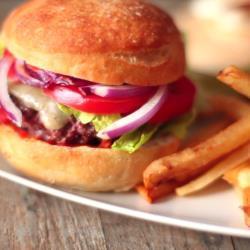 original amerikanische hamburger