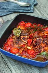 ossobucco mit frischen tomaten