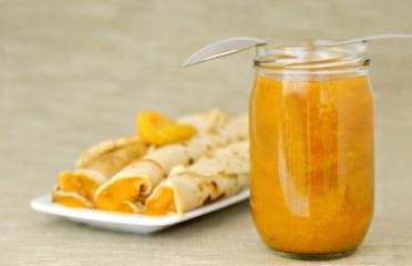 palatschinken mit aprikosen