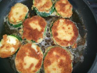 panierte zucchinis