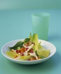 papaya limetten salat