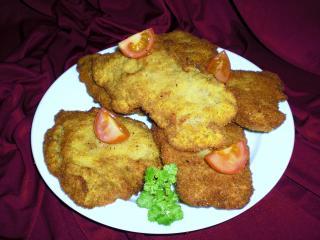parmesanschnitzelchen fingerfood