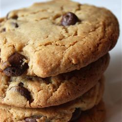 peanut butter cookies mit schokolade