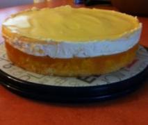 pfirsich maracuja sahne torte laktosefrei