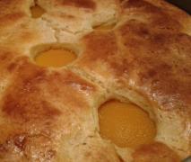 pfirsich schmand kuchen fettreduziert