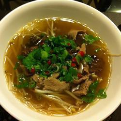 ph �� bò vietnamesische rindersuppe