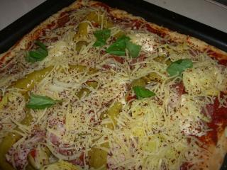 pizza blanc pizzateig