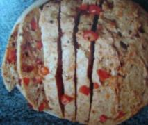 pizza brot super lecker
