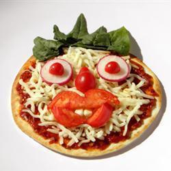 pizza gesichter