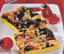 polenta mit spinat und käse finessen rezeptheft 1