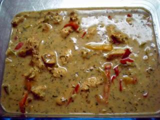 putengeschnetzeltes in paprika rahm sauce