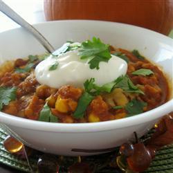 putenhackfleisch chili mit kürbis