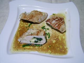 putenschnitzel mit mozzarella