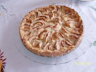 quark apfel tarte