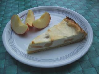quark apfel torte