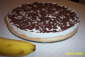 quark bananen kuchen