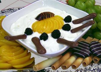 quark frucht dessert