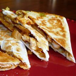 quesadillas mit hähnchen