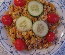 radieschen möhren salat