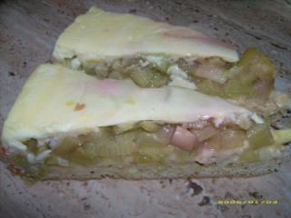 rhabarber vanille kuchen