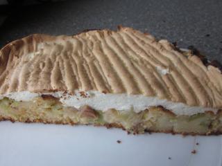 rhabarberkuchen mit meringue