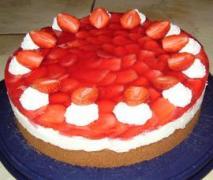 rhabarberkuchen mit walderdbeeren vom blech