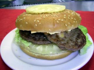 riesen hawaii burger
