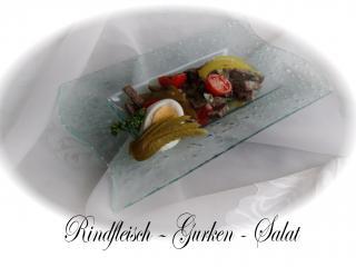 rindfleisch gurken salat