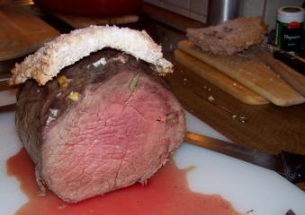 rindfleisch in der salzkruste