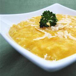 risotto mit butternut kürbis