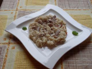 risotto mit schweinefilet