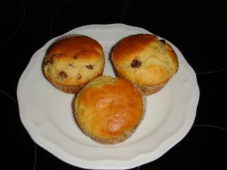 rosinen muffins