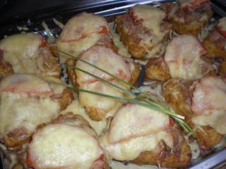 rösti mit kasseler und käse resteverwertung für kasselerbraten