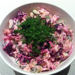 rote bete salat mit gurke