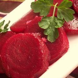rote bete salat mit knoblauch