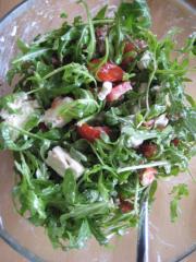 rucola feta salat
