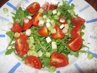 rucola tomaten salat