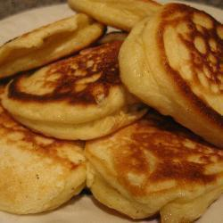 russische buttermilch pfannkuchen oladji