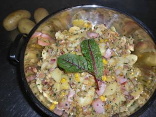 rustikale kartoffelpfanne