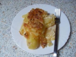 sahniges kartoffelgratin