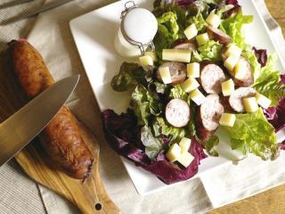 salade jurasienne französischer salat