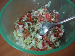 salat auf afghanische art salata