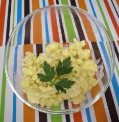 salat aus blumenkohl