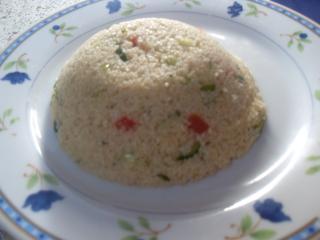 salat mit couscous